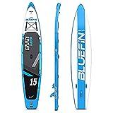 Paquete de Sup Bluefin Cruise | Tabla de Paddle Surf Hinchable | Remo...