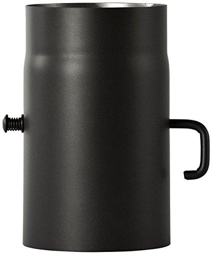 Tuyau Bertrams - Pour poêle - 2 mm x 25 cm - Avec accélérateur Senotherm UHT-Hydro laqué, noir, 196512