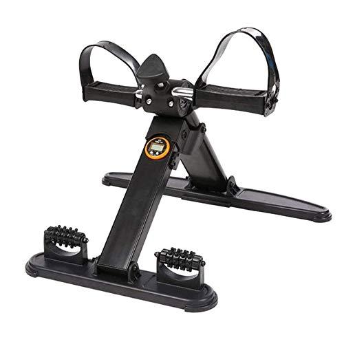 Aptitud escalera paso a paso estable de la máquina de pedal ejercitador de usos múltiples del pedal cubierta Deportes paso a paso las piernas eléctrico máquina elíptica entrenador compacto paso a paso