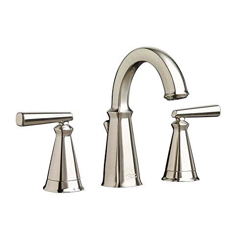 """American Standard 7018801.295 Edgemere Widespread Bathroom Faucet, 8"""", Brushed NIckel"""