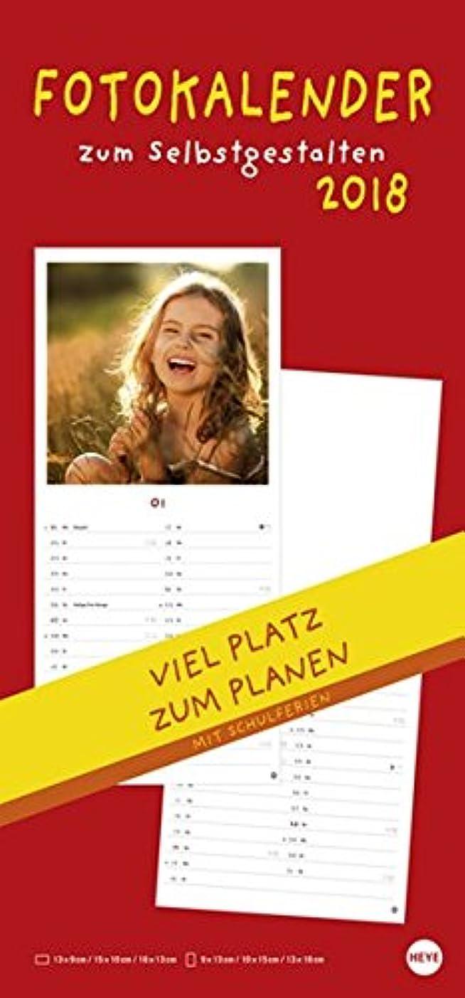 犠牲航空願望Fotokalender 2018 zum Selbstgestalten: Mit viel Platz zum Planen