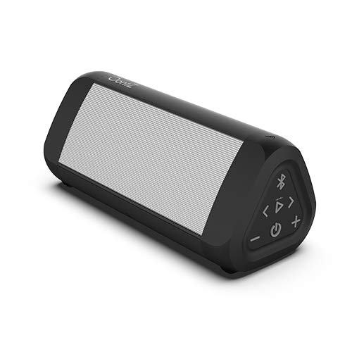 OontZ Angle 3 Ultra (4th Gen) Waterproof 5.0 Bluetooth Speaker, 14 Watts, Hi-Quality Sound & Bass, 100 Ft Wireless Range, Play 2, 3 or More Speakers Together, OontZ App, Bluetooth Speakers (White)