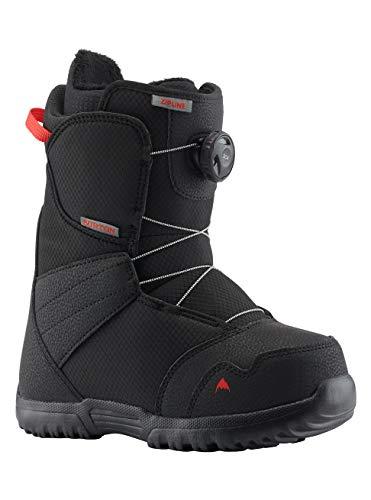 Burton Zipline Boa Black Snowboard Boot voor kinderen