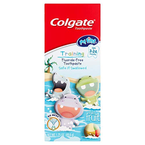 Colgate My First Baby and Toddler Toothpaste Fluoride Free