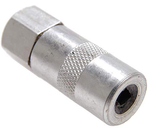 BGS 3143 | Mundstück für Fettpresse | Schmiermittelaufsatz | Hand Fettpresse, Fettpressenrohr Adapter | Schmierpresse Anschluss Nippel