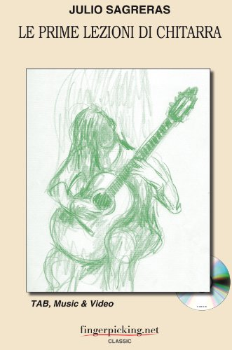 Le prime lezioni di chitarra
