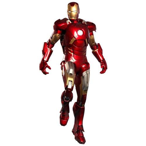 Hot Toys Iron Man Mark VII The Avengers 1:6 Scale 12' Figure
