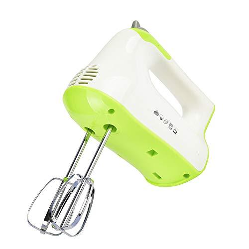 Handmixer handmixer set elektrisch deeg ei garde 7 snelheidsfuncties, handzaam bevat roestvrijstalen racket en deeghaak vakman voor keuken eten bakken