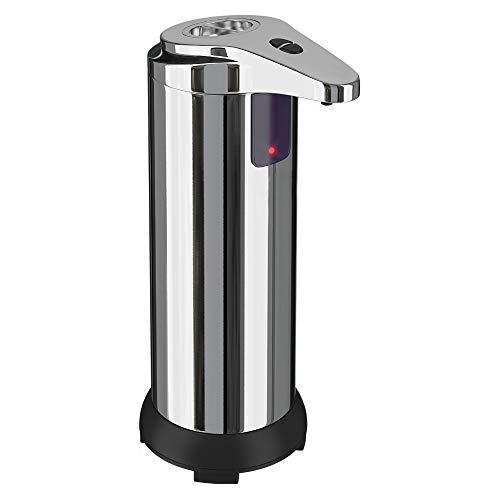 JIAN 250 Ml Intelligente Automatische Vloeibare Zeep Dispenser Badkamer Dispenser Fit Voor Keuken Badkamer Schuim Dispenser Touchless Hand Ontsmetten Exquisite (Capacity : A, Color : Basic button)