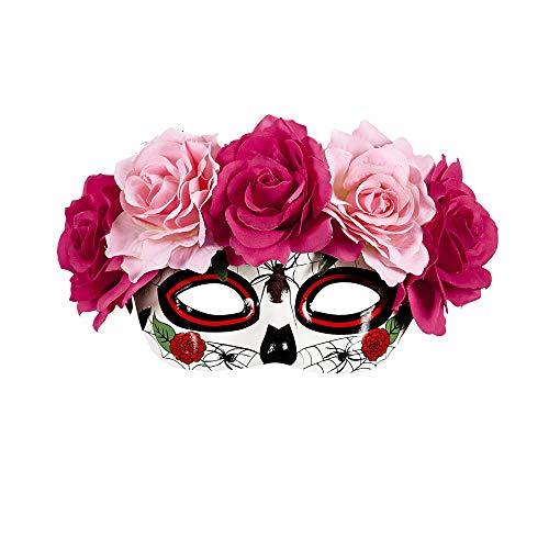 Widmann Augenmaske Dia de los Muertos