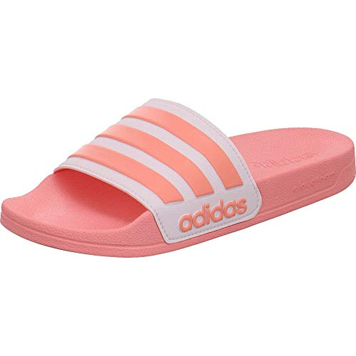 adidas Adilette Shower, womens Slide, Glory Pink/Footwear White/Glory Pink, 39 EU