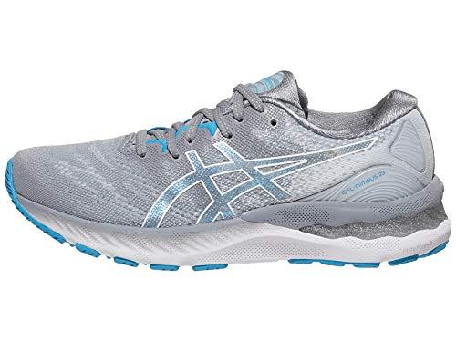 ASICS Women's Gel-Nimbus 23 Running Shoes, 7M, Sheet Rock/White
