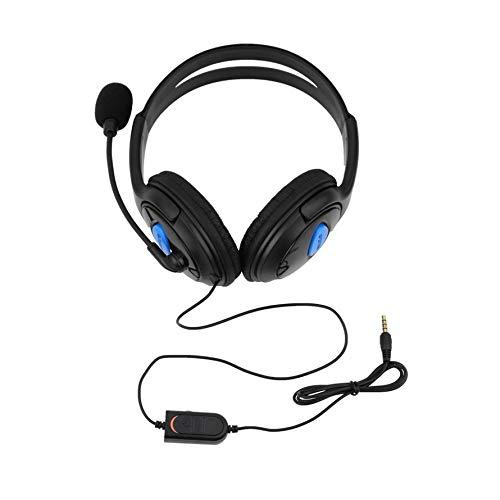 Preisvergleich Produktbild HoganeyVan Wired Gaming Headset Kopfhörer mit Mikrofon Mikrofon Stereo Bass Dinner für Sony PS4 Playstation 4-Gamer