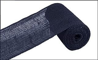Loose Weave Burlap, 10 Yards (Navy Blue, 6