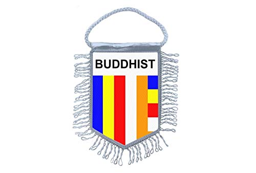 Akachafactory Wimpel minivlag vlag vlag minivlag boeddhistische Tibet