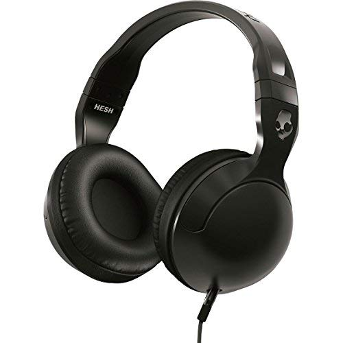 Skullcandy S6HSGY-374 Hesh 2 Over-Ear Headphone with Mic, Black/Gun Metal
