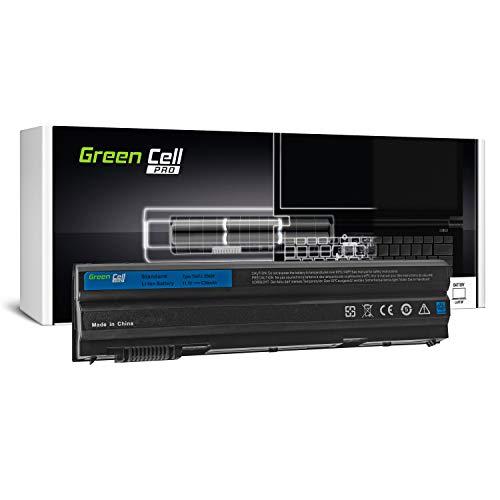 Green Cell PRO Serie 8858X M5Y0X T54FJ Batteria per Portatile dell Latitude E5420 E5430 E5520 E5530 E6420 E6430 E6440 E6520 E6530 E6540 (Le Pile Originali Samsung SDI, 6 Pile, 5200mAh, Nero)