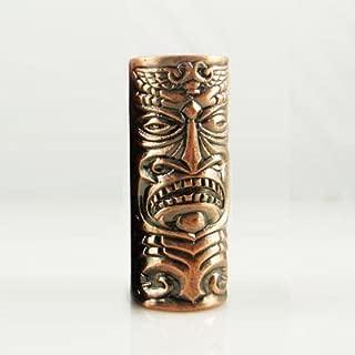 1 Aztec Mask Empaistic Copper Tattoo Grip - tattoo machine supply-