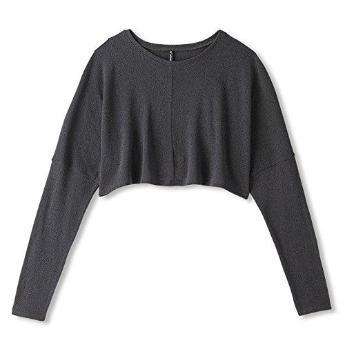 (ダンスキン)DANSKIN ヨガウェア ボレロトップシャツ DY57312 [レディース] DY57312 WK ウォッシュブラック...