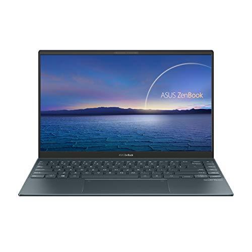 ASUS ZenBook 14 UM425IA-AM006T - Portátil  Full HD (Ryzen 7 4700U, 16GB RAM, 512GB SSD, Radeon Graphics, Windows 10 Home) Gris Pino - Teclado QWERTY español
