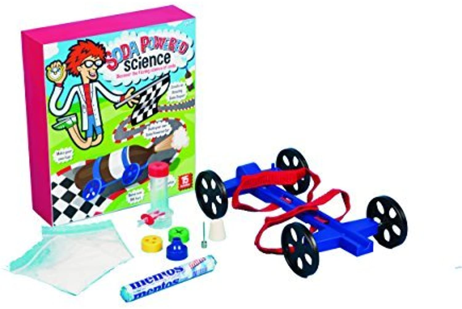 Be Amazing  Toys Soda Powered Science Kit by Be Amazing  Toys