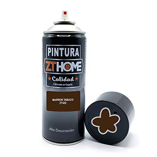 Pintura Spray Marron Oscuro 400ml imprimacion para madera, metal, ceramica, plasticos / Pinta todo tipo de cosas y superficies Radiadores, bicicleta, coche, plasticos, microondas, graffiti
