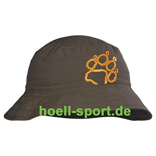 Jack Wolfskin Kinder Mütze Kids Sun Hat, Granite, S, 1002030002