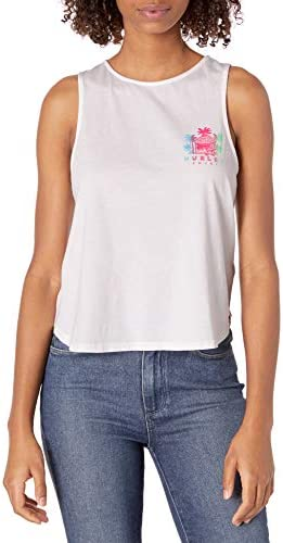 Hurley Junior s Shacked Flouncy Tank Top White X Large product image