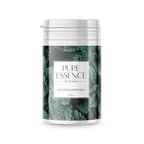 Mentholkristalle für erfrischende Saunaaufgüsse - 100% Minzöl - naturrein - 100 g