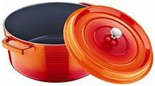 Bergner 20cm Kasserolle Kochtopf orange BG-6799