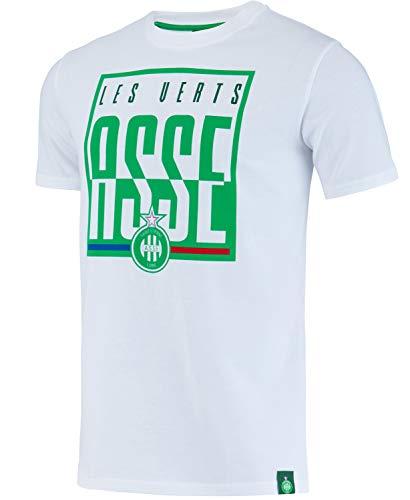 AS Saint Etienne T-Shirt ASSE - Official Collection Men's Size XXL