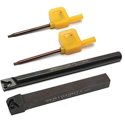 Torno CNC herramienta de corte con llave en T SER1010H11/SNR0010K11 10mm índice de torno torno torno torno torno torno accesorios