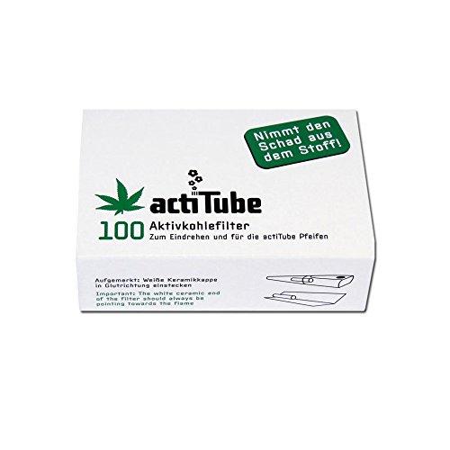 Tune Aktivkohlefilter 100 Stk. - Mehr Rauchgenuss durch Aktivkohle