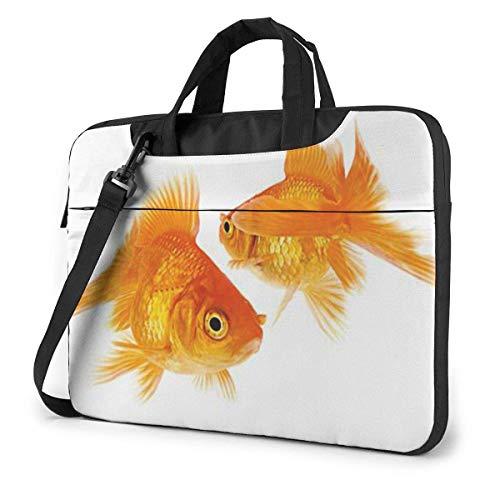 Cute Goldfish Unisex Laptop Bag Messenger Shoulder Bag for Computer Briefcase Carrying Sleeve