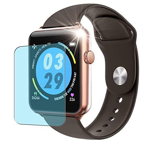 Vaxson 3 Stück Anti Blaulicht Schutzfolie, kompatibel mit ELEPHONE W6 Smartwatch smart watch, Displayschutzfolie Anti Blue Light [nicht Panzerglas]