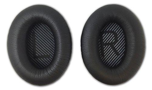 Aminori - Replacement Earpads Ear Cushion for Bose Quiet Comfort 35 QC35 Headphones (Black)