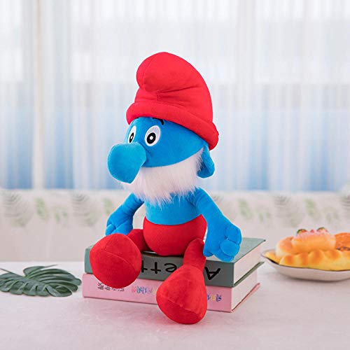 Smurfen knuffel Doll Doll Blue Elf Doll Gift-Blue Dad_55cm