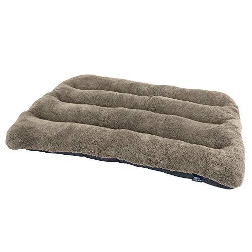 SportPet Designs Waterproof Pet Bed Fits Plastic Kennel, 46 inch, Brown (CM-0396-CS01)