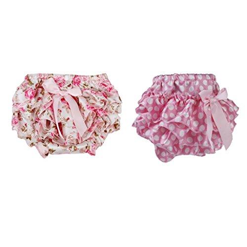 2x Falda Floral con Volantes Panal de Bebe Accesorio de Regalo de Mesa Comedor Viaje