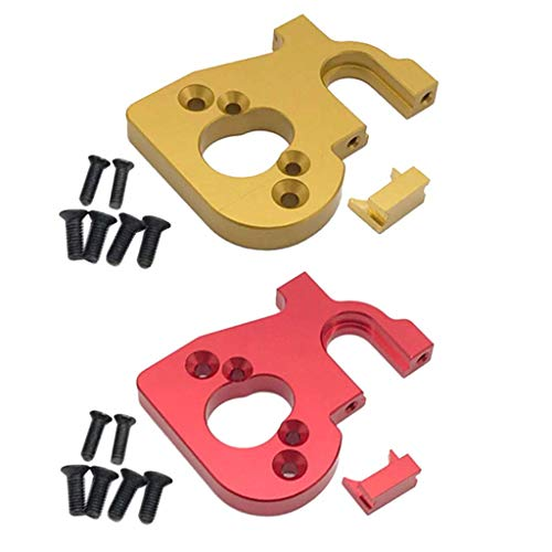 2X Asiento de montaje de motor de metal para WLtoys 144001 Car Buggy Trucks Accesorios de bricolaje