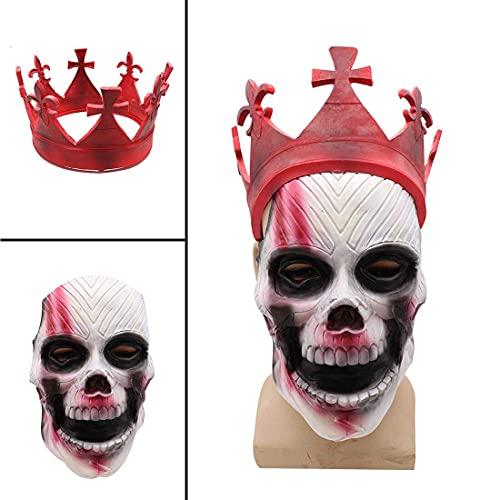 Watch Dogs 3 Legion Mask Cosplay Disfraz de juguete para adultos rojo