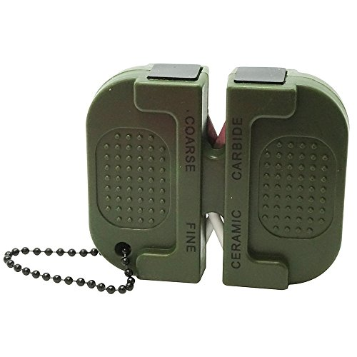 Safari Choice caccia Pocket size Two stage affilacoltelli