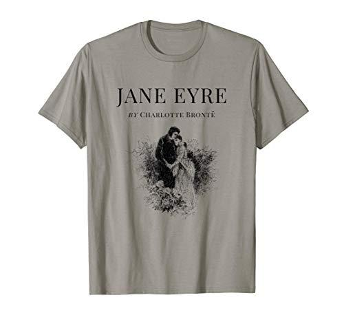 Jane Eyre Charlotte Bronte Portada Página de título Camiseta