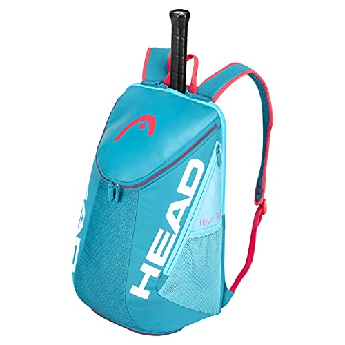 HEAD Zaino Tour Team, Borsa per Racchetta Unisex Adulto, Blu/Rosa, Taglia unica