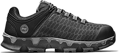 Timberland PRO Men's Powertrain Sport Alloy Toe EH Industrial & Construction Shoe, Black Synthetic, 10 W US