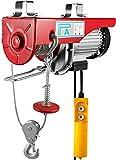vevor strumento di sollevamento elettrico 1320lbs, strumento di paletta elettrico leva del carrello elevatore elettrico 12m, paranco elettrico adatto per fabbriche, magazzini, edilizia, merci