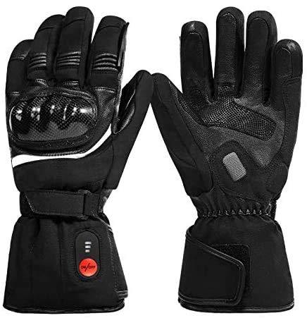 Beheizte Handschuhe, beheizte Motorradhandschuhe, wasserdicht und Winddicht, zum Reiten, Motorradfahren, Skifahren, Jagen, Angeln, Reiten, Radfahren, Camping, Wandern