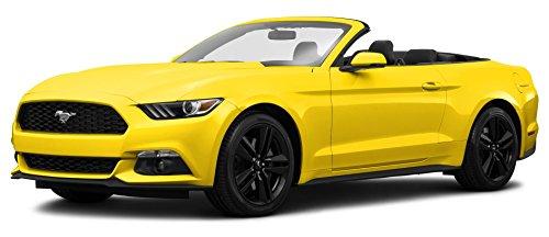 2015 Ford Mustang EcoBoost Premium, 2-Door Convertible, Triple Yellow Tri-Coat