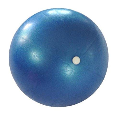 Gymnastikball Fitnessball COLORFUL 25cm Übung Fitness Gymnastik Smooth Yoga Ball (Blau)
