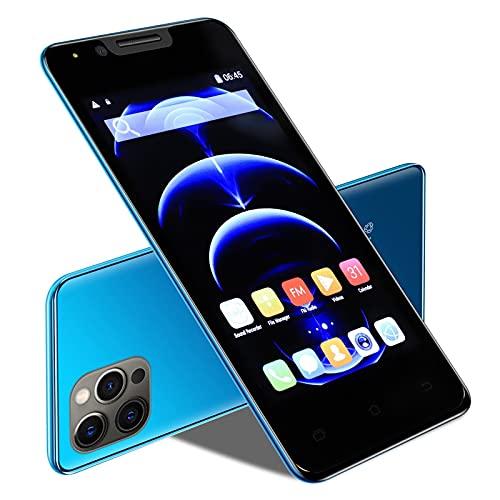 GAOwi Smartphone I12mini 4.0 Pulgadas Smartphone Face Unlock HD Screen Android 4.4 512MB + Teléfono móvil de 4GB,Azul